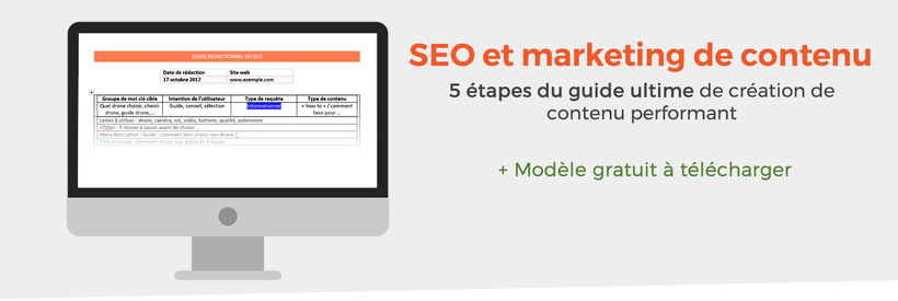 Guide content marketing et SEO